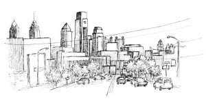 Future fishtown drawing